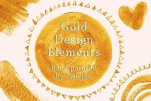 Gold Design Elements II
