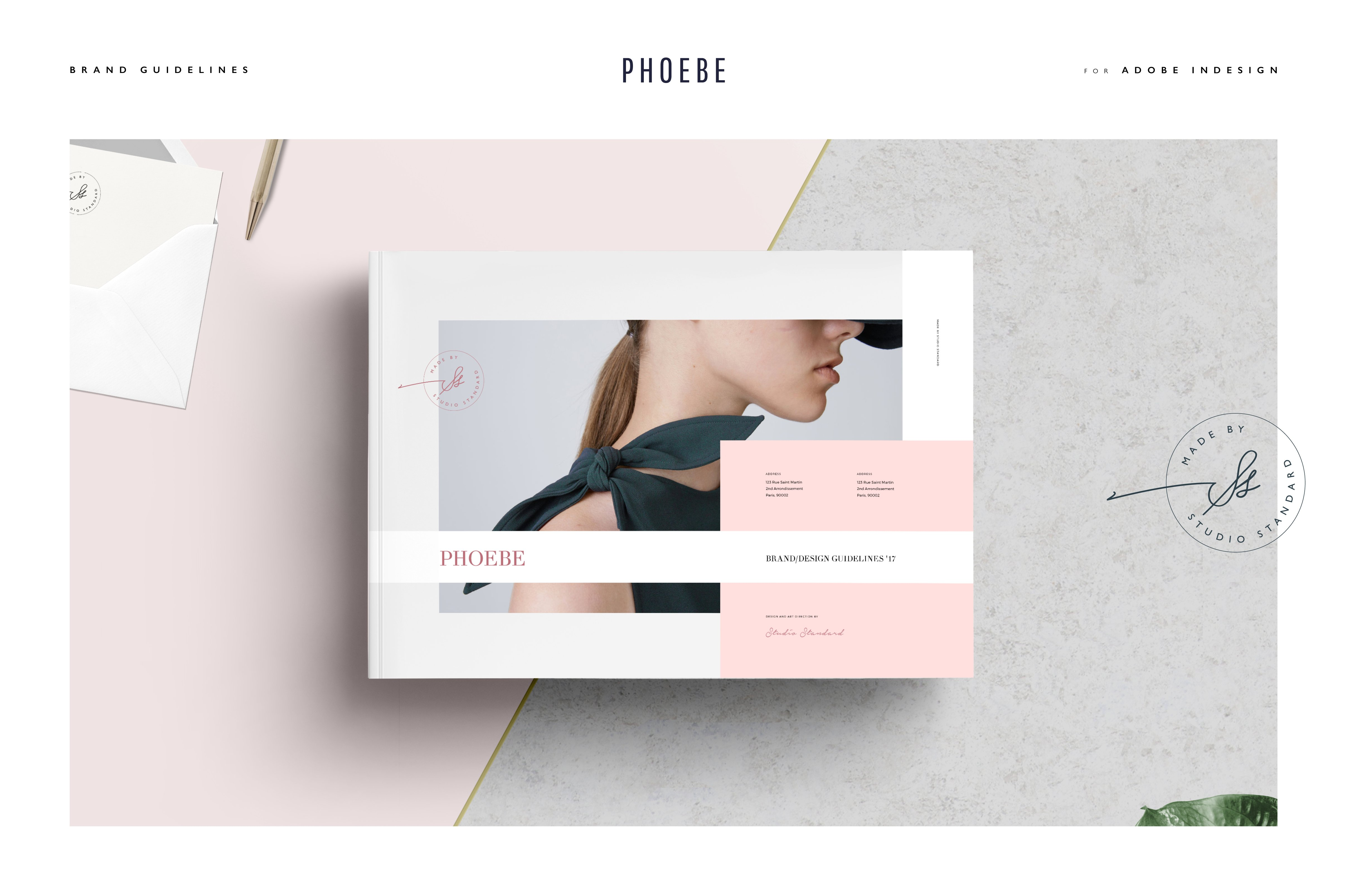 Phoebe Design Guidelines ~ Brochure Templates ~ Creative Market