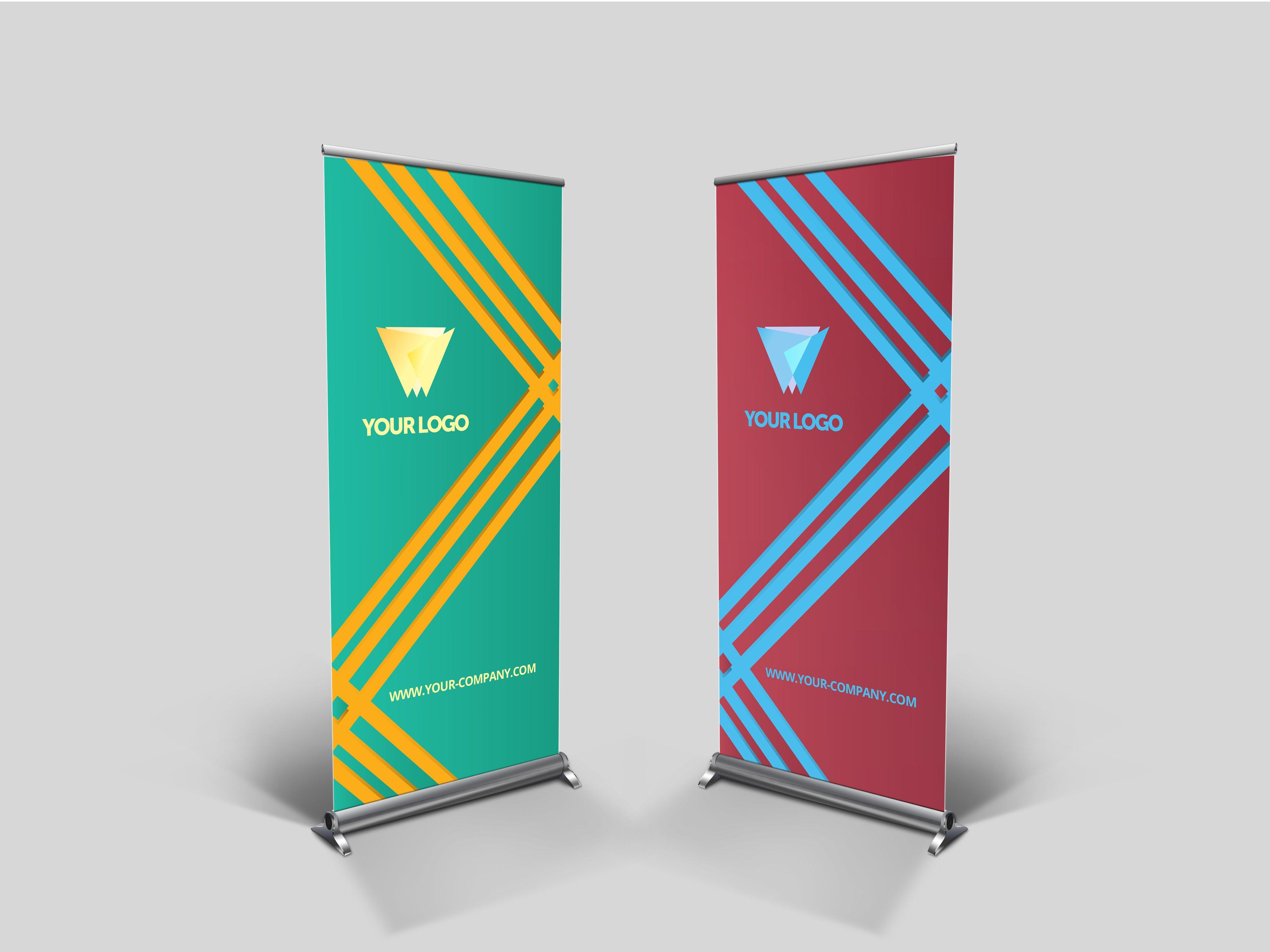 Business Roll-up Banner - nex #004 ~ Presentation Templates ...