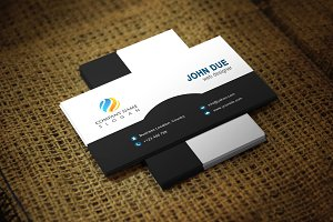 Monvin Business Card Template