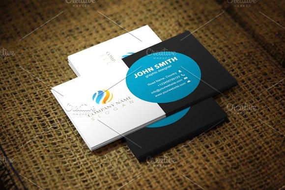 Pavie Business Card Template