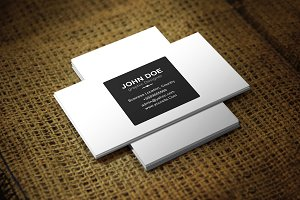 Pionio Business Card Template
