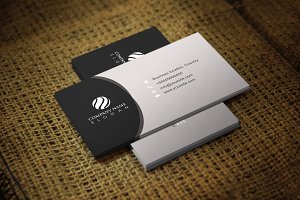 Podiva Business Card Template