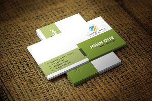 Tirate Business Card Template