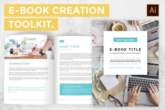 brilliant ebook templates to design your next bestseller creative market blog. Black Bedroom Furniture Sets. Home Design Ideas