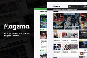 Magzma - Powerful WordPress Magazine