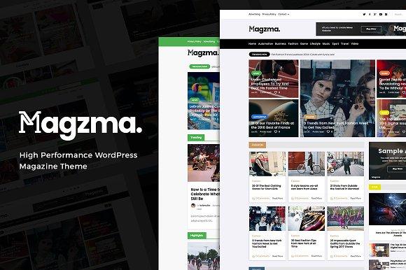 Magzma - Powerful WordPress Magazine