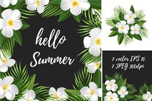 Summer Tropical set