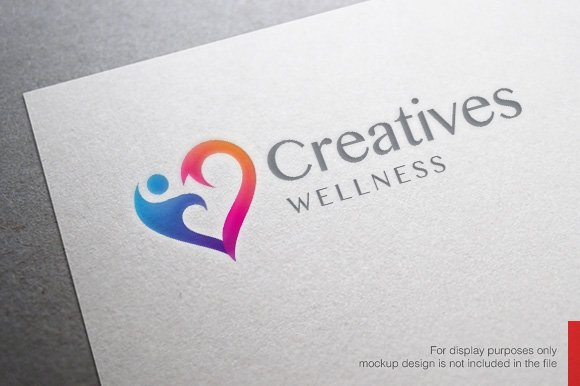 Health and Wellness Logo in Logo Templates
