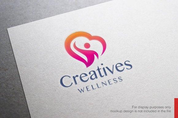 Health and Wellness Logo