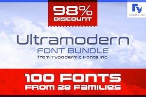 Ultramodern Font Bundle