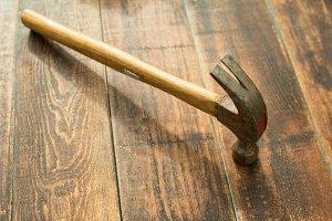 Rusty hammer