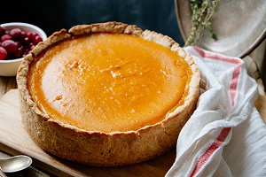 Sweet pumpkin pie