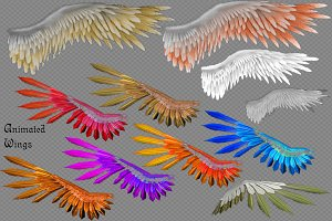 2D Animated Wings