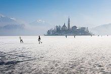 Winter Lake Bled