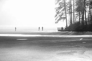 Frozen Lake Bled