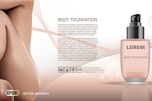 Vector skin care and body foundation