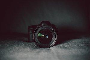 Big DSLR camera