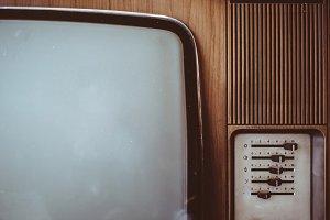 Old, retro television