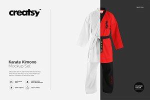 Karate Kimono Mockup Set