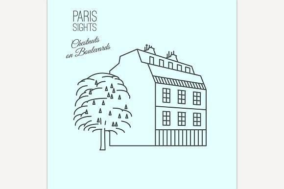 Traditional Paris House