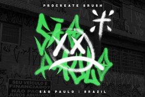 São Paulo - Procreate Brush