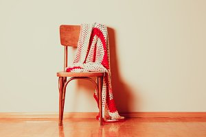 The vintage chair