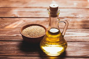 The sesame oil
