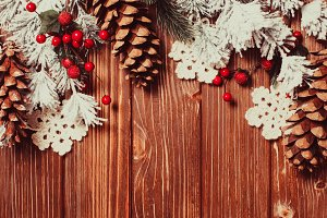 The Christmas backgrounds