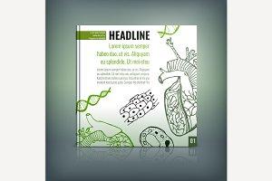 Biology Brochure Cover Idea
