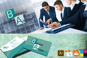 Business card 3.5x2 in logo included