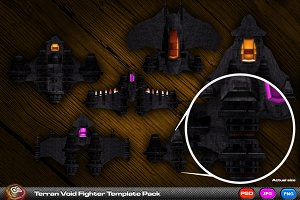 Terran Void Fighter Template Pack