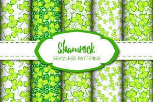 Shamrock - Seamless Patterns