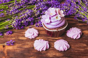 The Lavender cakes
