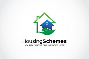Housing Schemes Logo Template