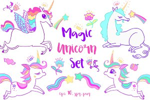 Magic Unicorn Set