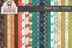Patterned Papers Hippie Spirit