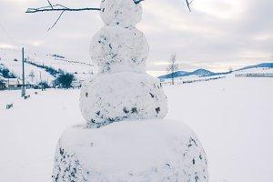 The big snowman