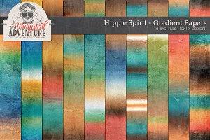 Gradient Dye Papers