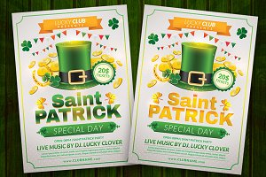Saint Patrick Flyer Template