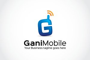 Gani Mobile Logo Template