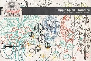 Doodles + Drawings Hippie Spirit