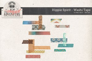 Washi Tape Hippie Spirit