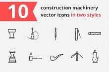 14 smoking vector icons