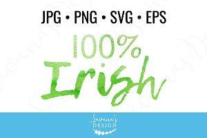 100% Irish Clipart and Cut Files