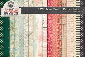I Will Meet You In Paris Patterns