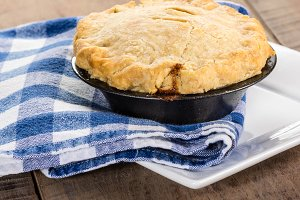 Baked turkey pot pie