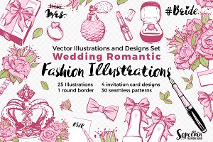 Wedding Fashion Illustration Kit