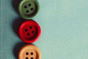The Colorful buttons