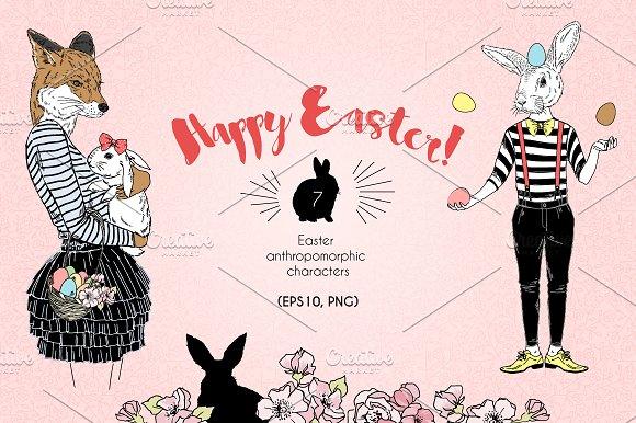 Happy Easter Anthropomorphism